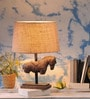 Fabuliv Beige Jute Thorsen Table Lamp