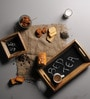 Fabuliv Chalk Board Wood Bed Tea Tray