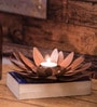 Fabuliv Copper Iron Candle Holder