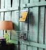 Fabuliv Metal Distress Turquoise Wall Organiser
