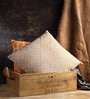 Fabuliv Paris Mango Wood & Jute Brown Crate