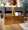 Fabuliv Vintage Brown Mango Wood Organiser