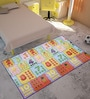 Counting Fruits Multicolor Foam Play Mat by FashBlush
