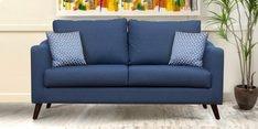 Felix Three Seater Sofa in Blue Colour