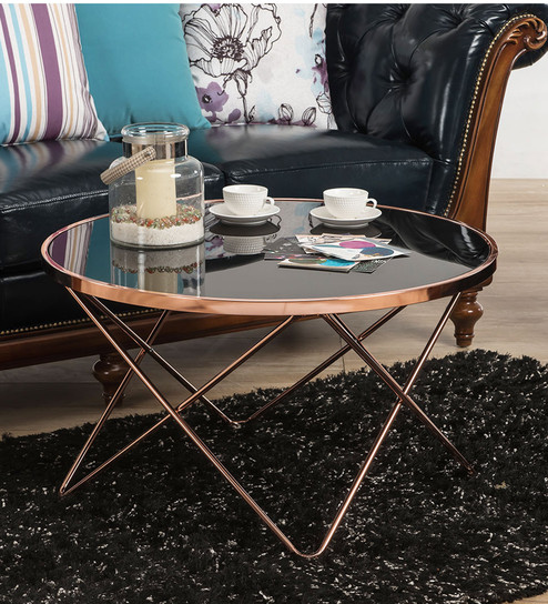 Brilliant Felis Glass Coffee Table In Black Colour By Durian Gmtry Best Dining Table And Chair Ideas Images Gmtryco