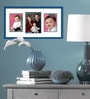 Elegant Arts and Frames Blue Metal 21 x 1 x 11 Inch Collage Photo Frame