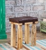 Fergie Stool in Natural Finish by Bohemiana