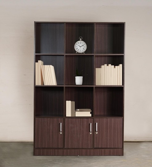 File Cabinet Book Shelf In Wenge Finish By Dhep Furniture