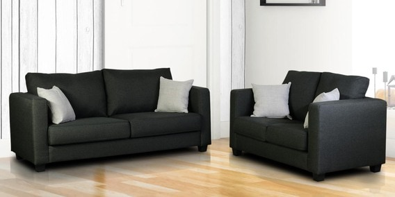 Five Seater Sofa Set 3 2 In Blackstone Colour By Dhep Furniture