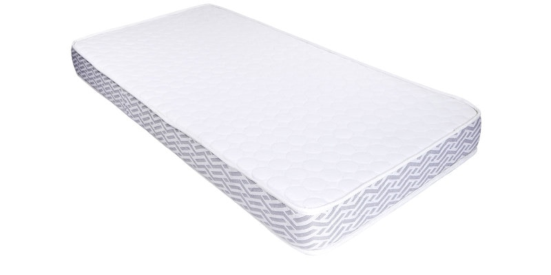 First Sense Single Size (78 x 36) 5 Inches Thick Foam Mattress by Sleep Sutraa