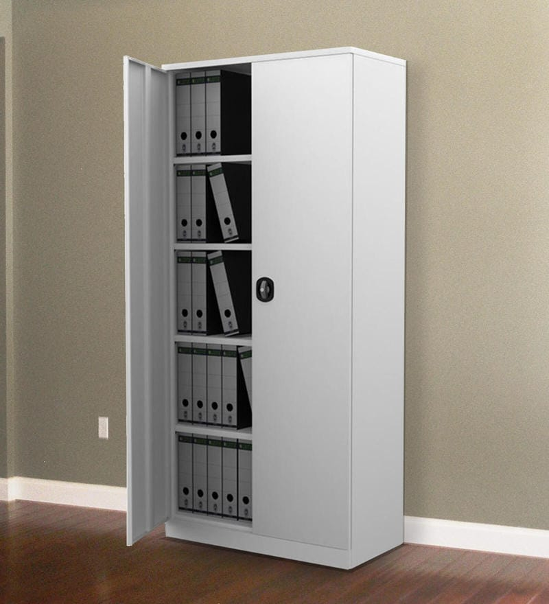 File Cabinet in Grey Color by Fonzel