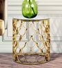 Fisherman End Table in Gold Colour by Bent Chair