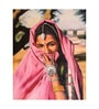 Fizdi Canvas 24 x 0.2 x 30.4 Inch Life of Rajasthan 4 Unframed Art Painting