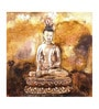 Fizdi Canvas 28 x 0.2 x 28 Inch Buddha Framed Art Painting
