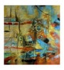 Fizdi Canvas 32 x 0.2 x 32 Inch Hand Painted Unframed Art Painting