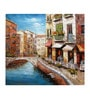Fizdi Canvas 36 x 0.2 x 32 Inch Venice 16 Unframed Art Painting