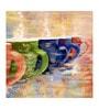Fizdi Canvas 40 x 0.2 x 40 Inch Hand Painted Unframed Art Painting