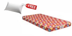Flora Queen Size (78x60) 4 Inch Back Support Eco Mattress (FREE Pillow)