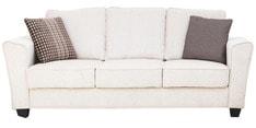 Florence Three Seater Sofa in Cream Colour