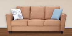Florence Three Seater Sofa in Sandy Colour