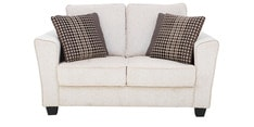 Florence Two Seater Sofa in Cream Colour