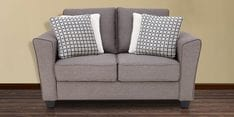 Florence Two Seater Sofa in Grey Colour