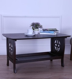 Floren Coffee Table In Light Cappuccino Finish