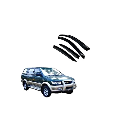 Chevrolet Tavera Car Visor By Flomax Online Exterior Accessories