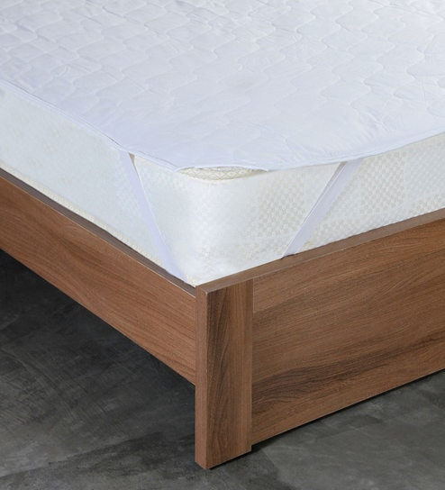 Buy Floccus King Bed Quilted 78x72 Inches Cotton Mattress Protector