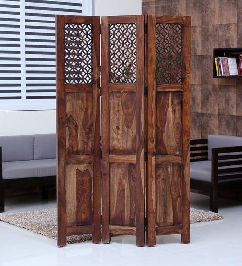Florito Sheesham Wood Room Divider
