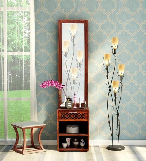 Florito Solid Wood Dresser In Honey Oak Finish By Woodsworth