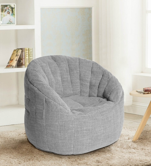 Buy Fluco Firefly Bean Bag Chair With Structured Back Support With