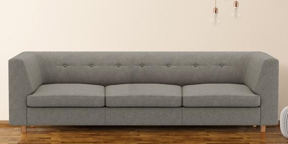 Flamingo 3 Seater Sofa In Grey Colour