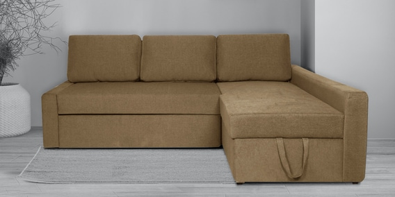 Flumph Lhs L Shape Sofa Bed