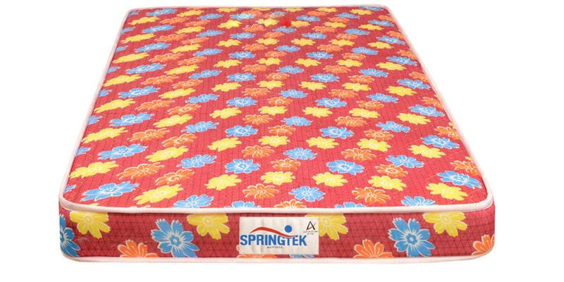 Flora King Size (78 x 72) 4 Inches Thick Back Support Eco Mattress by Springtek Ortho Coir