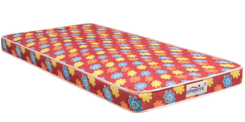 Flora Single Size (72 x 35) 4 Inches Thick Back Support Eco Mattress by Springtek Ortho Coir
