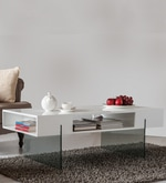 Ford Coffee Table in White Colour