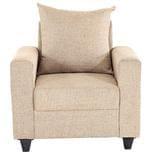 Foshan One seater Sofa in Beige Colour