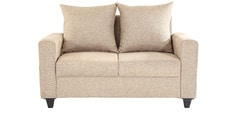 Foshan Two Seater Sofa in Beige Colour