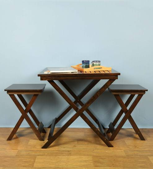 Foldable Coffee Table Set By ClasiCraft