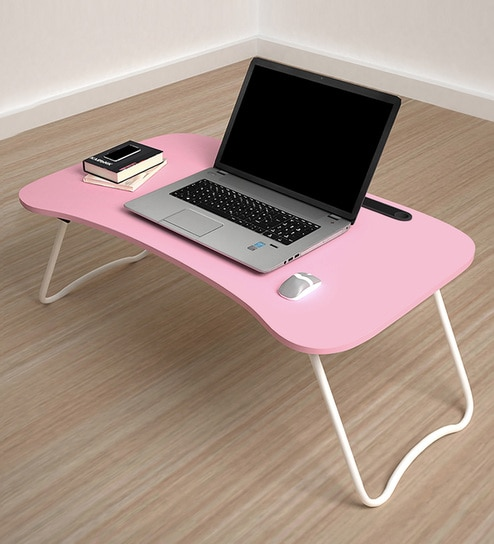Get 51% Off on Furniture Modern Study Tables Foldable multi-purpose Laptop table by Story home