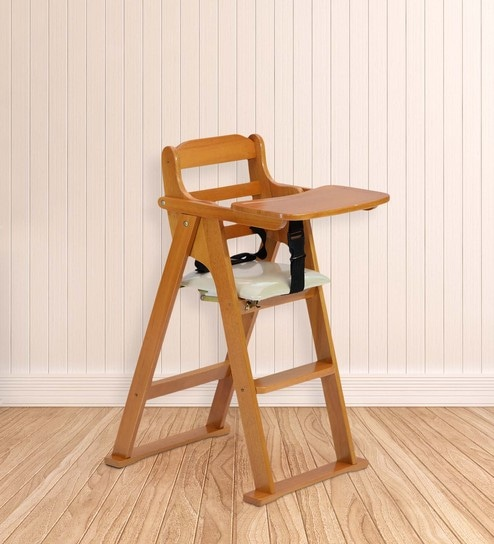 Kiddie Folding High Chair in Cherry Finish by Marco & Buy Kiddie Folding High Chair in Cherry Finish by Marco Online ...