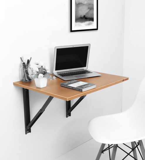 Folding Wall Mounted Large Study Table