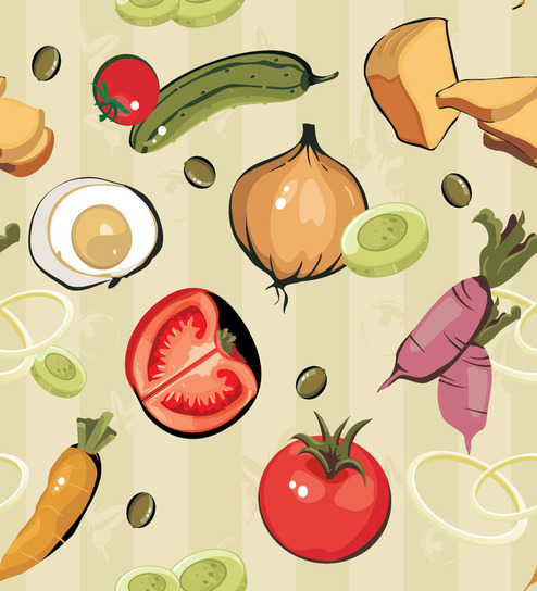 print a wall paper food all the way pvc free wallpaper by print awe are sorry but this item is out of stock