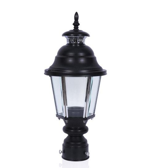 Buy fos lighting black aluminum lantern style outdoor pole or gate fos lighting black aluminum lantern style outdoor pole or gate light mozeypictures Gallery