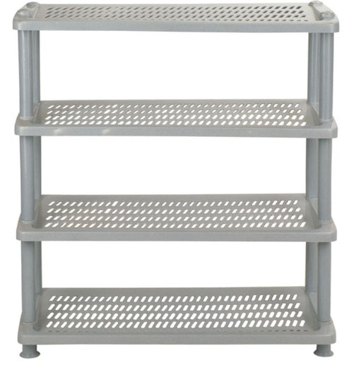 Buy Four Tier Shoe Rack By National Set Of 2 Online Moulded