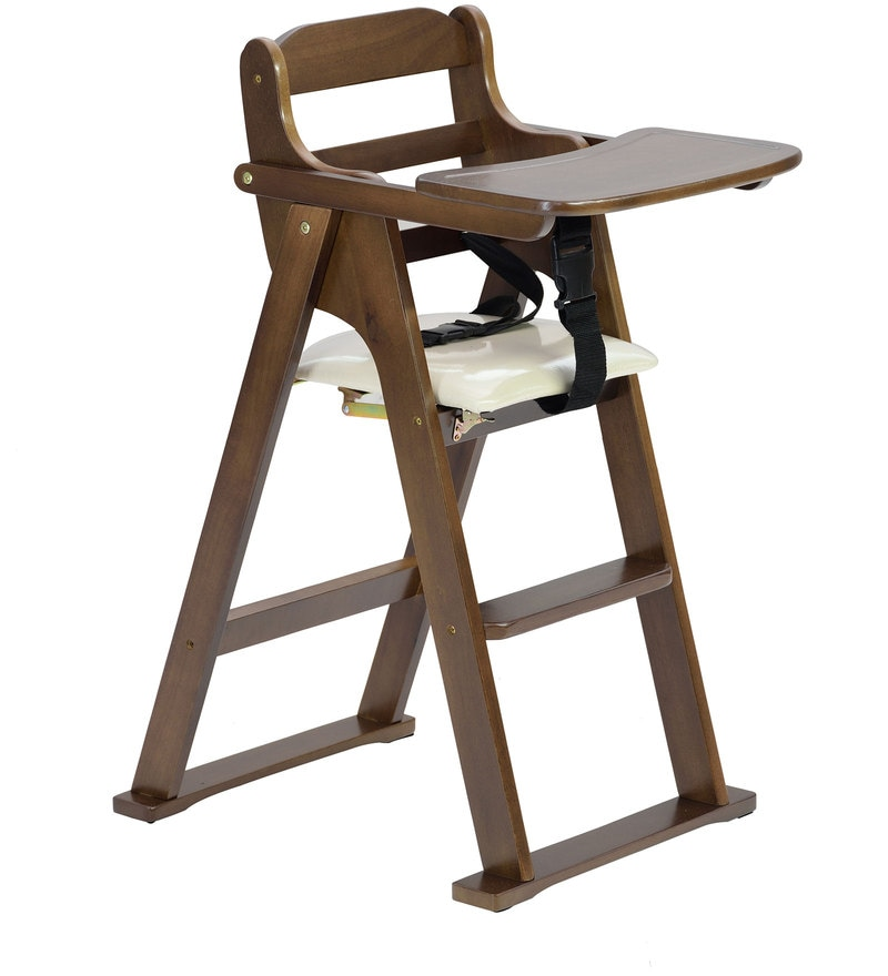 Buy Kiddie Folding High Chair In Wenge Finish By Marco