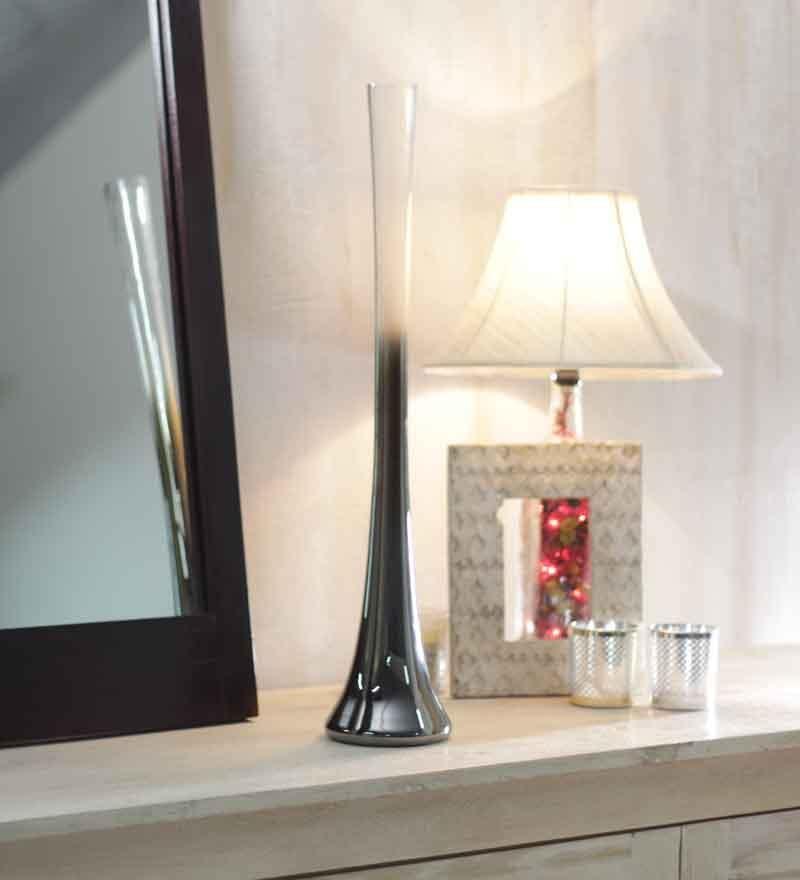 Foyer Long Glass Vase - 20 in
