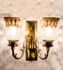 Gold Glass Wall Light by Fos Lighting