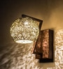 Gold Steel Wall Light by Fos Lighting